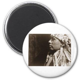 Un hombre indio norteamericano nativo de Wichita Imán Para Frigorifico