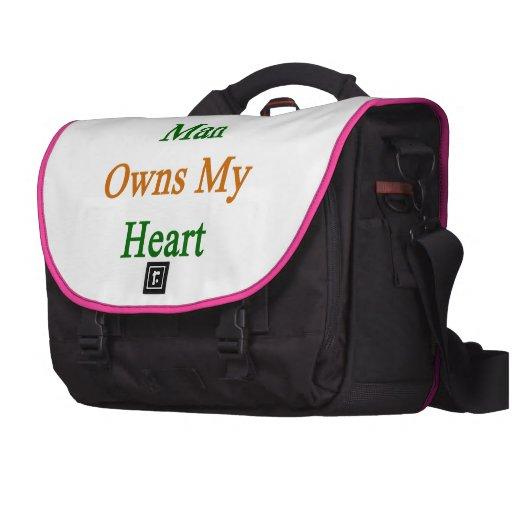 Un hombre indio posee mi corazón bolsas de ordenador