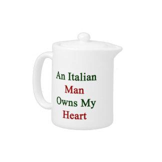 Un hombre italiano posee mi corazón