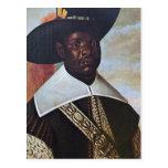 Un hombre negro del Congo Postal