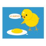 ¡¡un Huevo! Postal