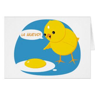 ¡¡un Huevo! Tarjetón