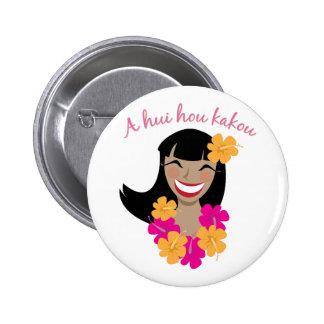 Un hui Hou Kakou Pin Redondo 5 Cm