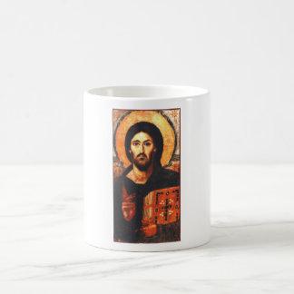 Un icono del siglo VI de Jesús Tazas