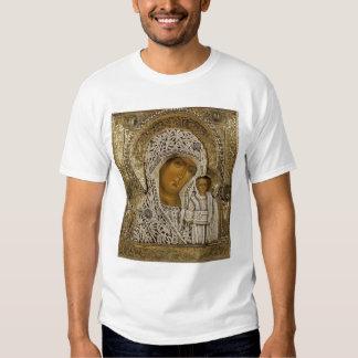 Un icono que muestra a la Virgen de Kazán Playera