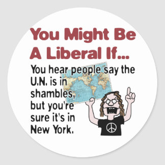 UN in Shambles Sticker