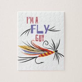 Un individuo de la mosca rompecabezas