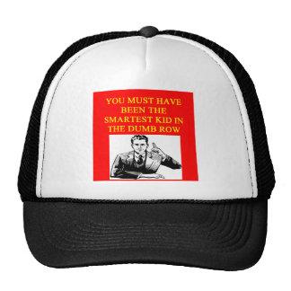 un insulto estúpido gorras de camionero