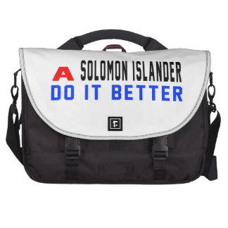Un isleño de Solomon mejora Bolsas De Ordenador