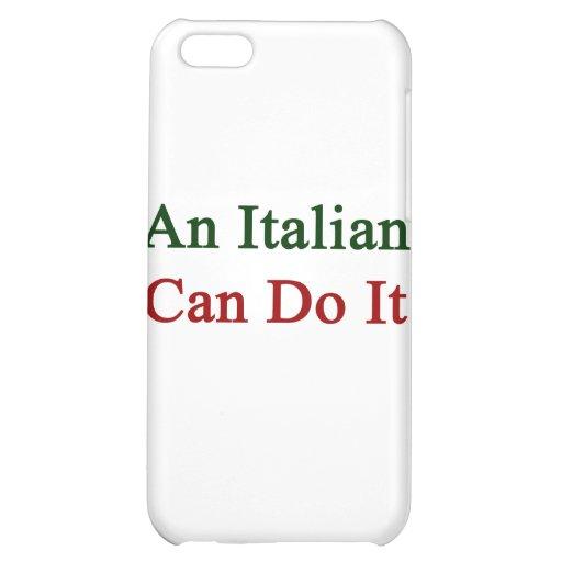 Un italiano puede hacerlo