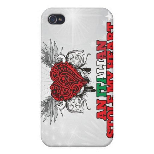 Un italiano robó mi corazón iPhone 4 cobertura