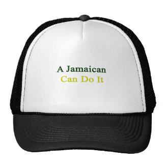 Un jamaicano puede hacerlo gorros