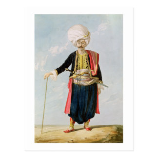 Un Janissary, c.1823 Postales