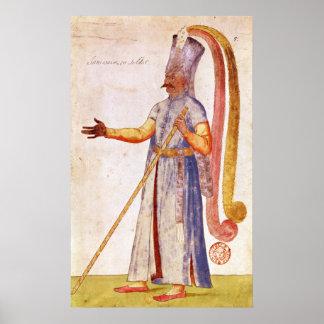 Un Janissary o un soldado 1567 Poster
