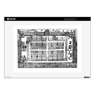 """Un jardín, """"del laberinto del jardinero"""", 1577 ( 38,1cm portátil calcomanía"""