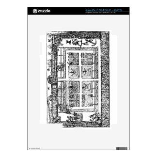"""Un jardín, """"del laberinto del jardinero"""", 1577 ( iPad 3 pegatinas skins"""