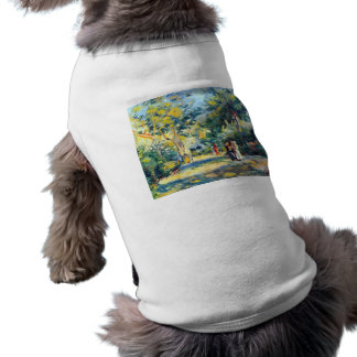 Un jardín en Montmartre de Pedro Renoir Camiseta De Perro