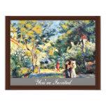 Un jardín en Montmartre de Pierre-Auguste Renoir Anuncio