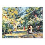Un jardín en Montmartre de Pierre-Auguste Renoir Invitaciones Personalizada