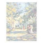 Un jardín en Montmartre de Pierre-Auguste Renoir Membrete A Diseño