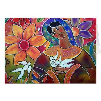 Un jardín para Maria en enero Oliverio Tarjeta De Felicitación