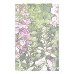 Un jardín por completo de Foxgloves Papeleria De Diseño