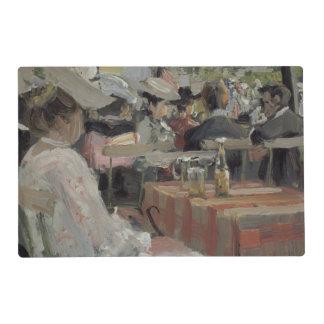 Un jardín Restaurant, 1906 Tapete Individual