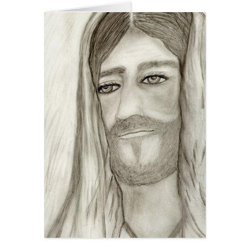 Un Jesús Tarjeta De Felicitación