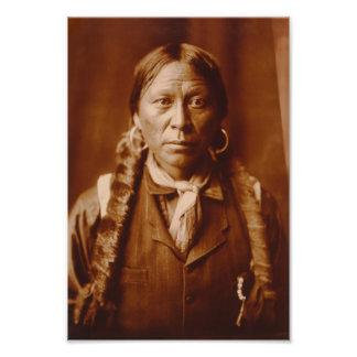 Un Jicarilla Man, 1904 Fotografía