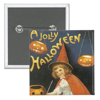 Un Jolley Halloween Pin Cuadrada 5 Cm