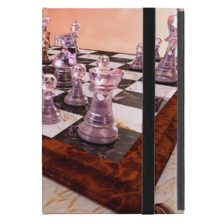 Un juego del ajedrez iPad mini carcasa