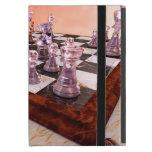 Un juego del ajedrez iPad mini coberturas