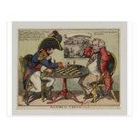 Un juego en el ajedrez postal