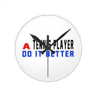 Un jugador de tenis mejora relojes