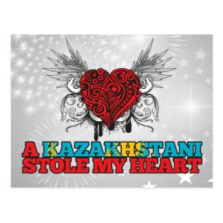 Un Kazakhstani robó mi corazón Postal