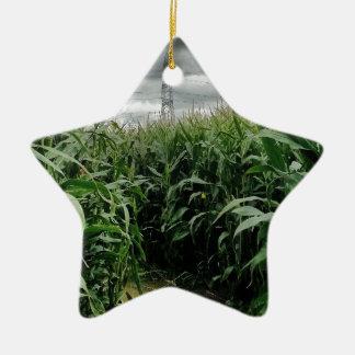 Un laberinto del maíz ornamento para arbol de navidad