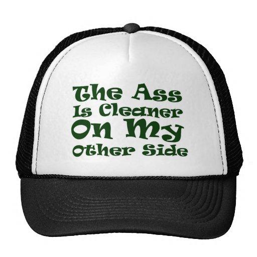 Un lado más limpio gorra