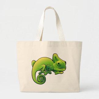 Un lagarto lindo del camaleón bolsa