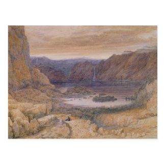 Un lago mountain, Noruega, c.1827 Postales