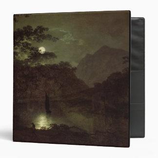 Un lago por el claro de luna, c.1780-82 (aceite en
