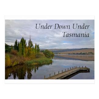 Un lago y un puente hermosos en Tasmania, Postales