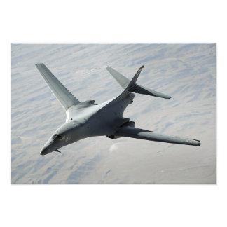 Un lancero de la fuerza aérea de los E.E.U.U.B-1B  Impresiones Fotográficas