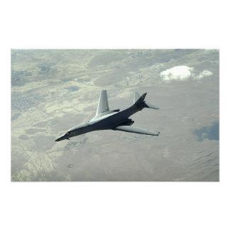 Un lancero de la fuerza aérea de los E.E.U.U.B-1B  Impresiones Fotograficas