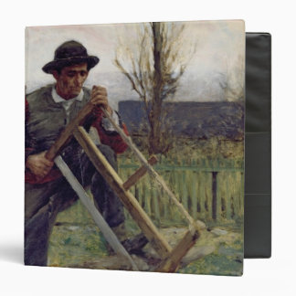 Un leñador de Aragonese, 1876