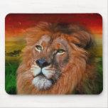Un león del amor II - cojín de ratón Alfombrillas De Ratón
