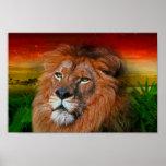 Un león del amor II - poster/impresión