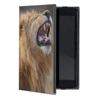 Un león masculino maduro (Panthera leo) en el Savu iPad Mini Carcasa