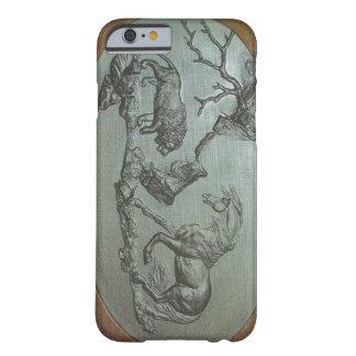 Un león, un caballo, 1780 un caso del iPhone 6 de Funda De iPhone 6 Barely There