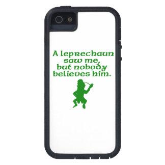 Un Leprechaun me vio Funda Para iPhone 5 Tough Xtreme