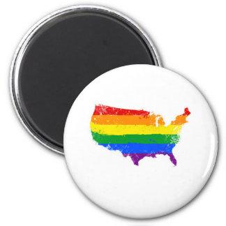 Un LGBT América Imán Redondo 5 Cm